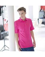 Henbury Men's Classic Polo Shirt With Stand Up Collar