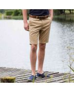 Front Row Men's Stretch Chino Shorts Tagless