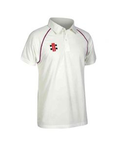 Gray-Nicolls Kids Matrix Short Sleeve Cricket Shirt