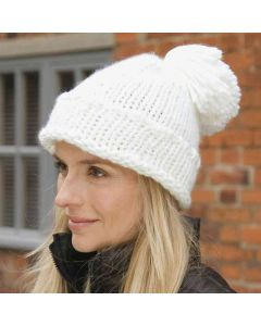 Result Winter Essentials Adult Spider Pom Pom Hat