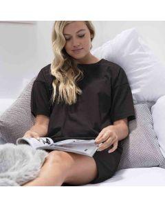 Comfy Co Women's Gals Oversized Sleepy T-Shirt