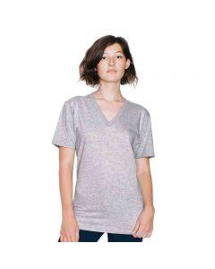 American Apparel Men's Fine Jersey Short Sleeve V-Neck T-Shirt