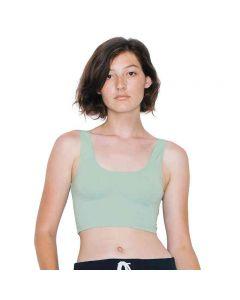 American Apparel Women's Cotton Spandex Crop Top