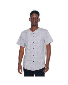 American Apparel Men's Thick-Knit Baseball T-Shirt
