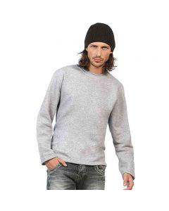 B&C Collection Men's Open Hem Sweatshirt