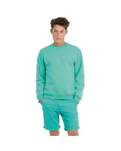 B&C Collection Men's Set-In Sleeve Sweatshirt