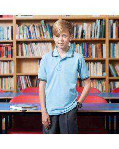 Henbury Kids 65/35 Tipped Polo Shirt