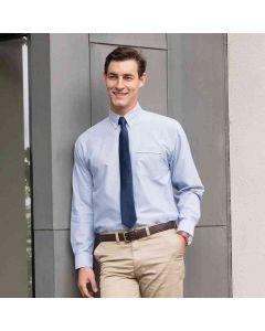 Henbury Men's Long Sleeve Classic Oxford Shirt
