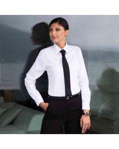 Henbury Women's Long Sleeve Lightweight Oxford Shirt
