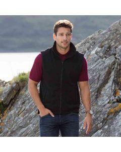Henbury Men's Sleeveless Microfleece Jacket