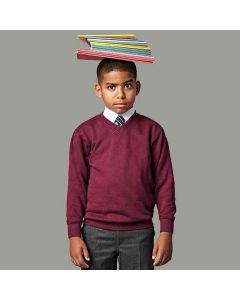 Jerzees Schoolgear Kids V-Neck Sweatshirt