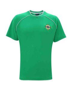 Official Football Merchandise Men's Northern Ireland T-Shirt