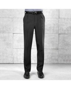Premier Men's Single Pleat Polyester Trouser