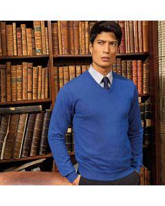 Premier Men's V-Neck Knitted Sweater