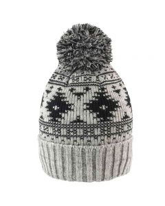 Result Winter Essentials Adult Deluxe Fair Isle Hat