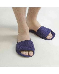 Towel City Classic Open Toe Terry Slippers