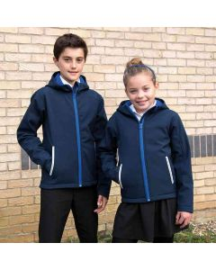 Result Core Kids Tx Performance Hooded Softshell Jacket