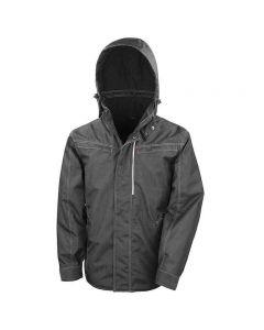 Result Workguard Adult Denim Texture Rugged Jacket
