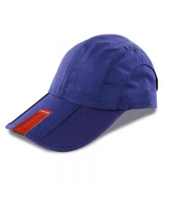 Result Headwear Adult Fold-Up Pique Mesh Cap