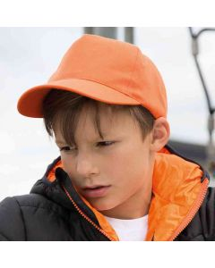 Result Headwear Kids Boston 65/35 Polycotton Cap