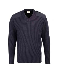 Rty Men's Security Style V-Neck Sweater