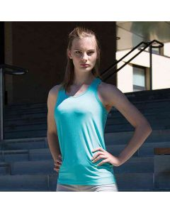 Spiro Women's Softex Fitness Top Super Soft Quick Dry Fabric With Hightec Stretch