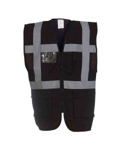 Yoko Adult Multi-Functional Executive Hi-Vis Waistcoat