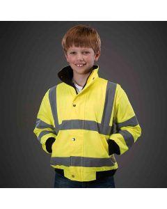 Yoko Kids High Visibility Bomber Jacket