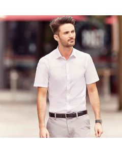 Russell Collection Men's Short Sleeve Ultimate Stretch Shirt