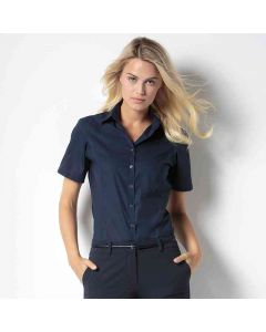 Kustom Kit Women's Business Blouse Short Sleeve