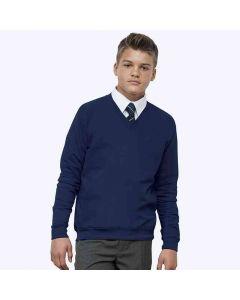 AWDis Academy Men's V-Neck Sweatshirt