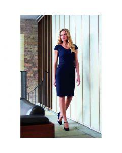 Brook Taverner Marino V-Neck Ladies Dress