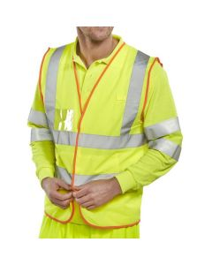 Beeswift Hi-Vis Vest - Retail Packed
