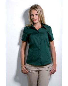Kustom Kit Corporate Pocket Oxford S/S Blouse