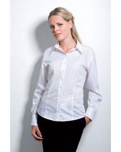 Kustom Kit Womens Business L/S Blouse