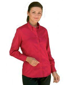 Kustom Kit Womens Button Down Long Sleeve Oxford Shirt