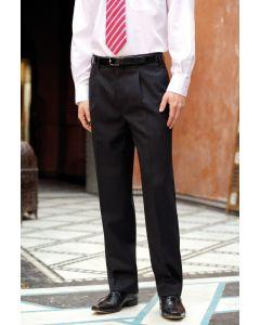 Brook Taverner Langham Single Pleat Mens Trouser