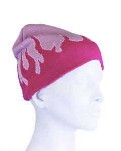 Beechfield Pink Trailblazer Beanie