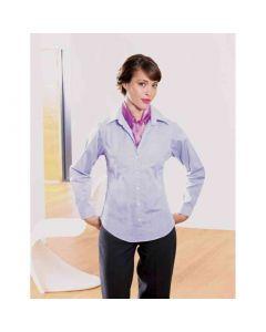 Premier Workwear Fil-A-Fil L/S Fitted Blouse
