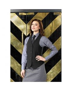 Premier Workwear Ladies Lined Poly Waistcoat