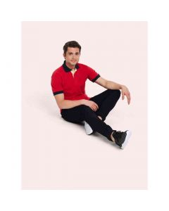 Uneek Contrast Pique Polo Shirt